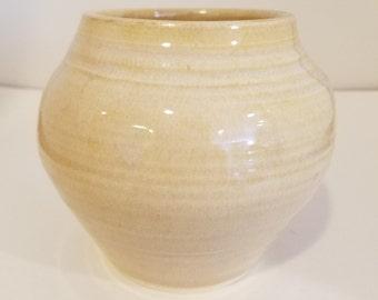 Rutile Yellow Vase