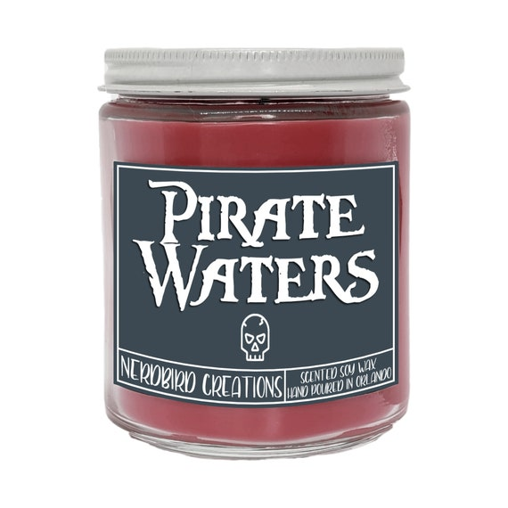 Pirates of the Caribbean Candle 8oz Pirate Ship Soy Candle