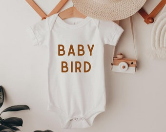 Baby Shower Gift Baby Girl Onesie\u00ae Baby Onesie\u00ae Baby Boy Onesie\u00ae Baby Gift Baby Clothes Baby Bird Onesie\u00ae
