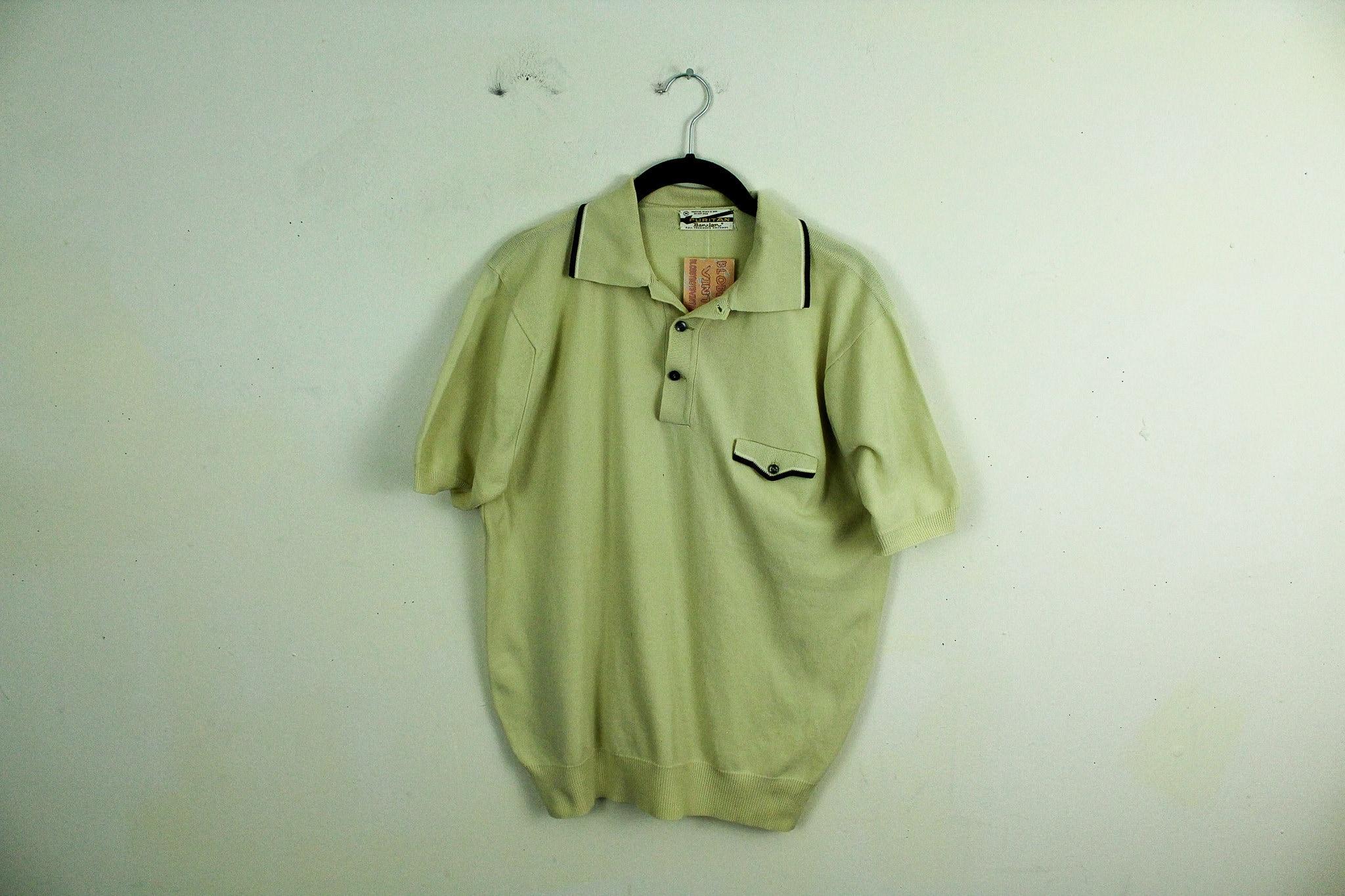 Vintage 1950s Puritan Polo Short Sleeve Shirt Button Neck Etsy