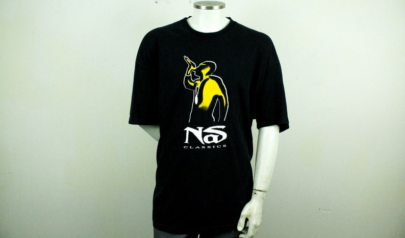 ac9551191 Vintage y2k NAS T Shirt / 3XL / Black / Hip Hop / Rap / Def | Etsy