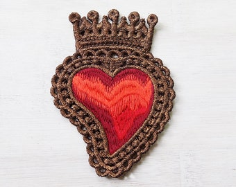 Patch sacred heart etsy