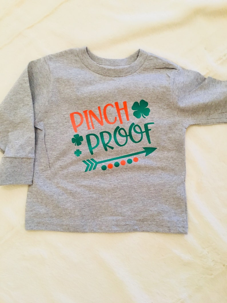 29118ab5fd0 Pinch Proof Shirt St. Patrick s Day Long Sleeve Short