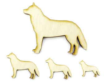 Undecorated Laser Embellishment Small  Fox Moon