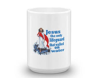 Jesus The Lifeguard Mug