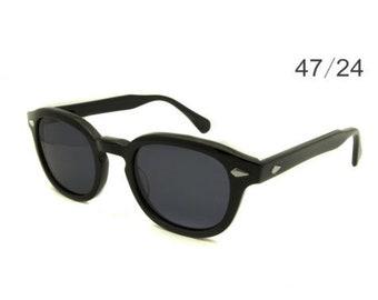ab519ede841 Handmade Johnny Depp style Sunglasses - sizes 47mm - Black