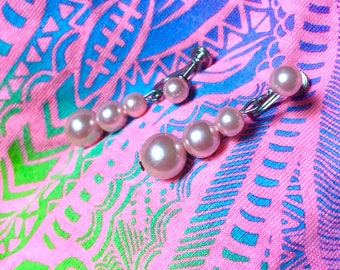 Drag Jewelry - Pink Pearls