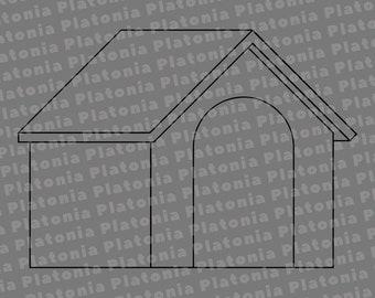 Suburban Home 4 Svg Suburban Home Svg House Svg Suburban Etsy