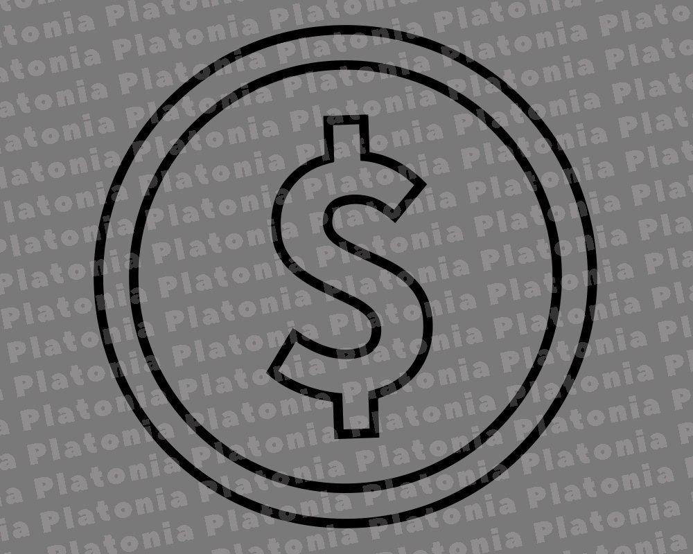 Download Money Coin Svg Currency Svg Money Coin Cut Files Money ...