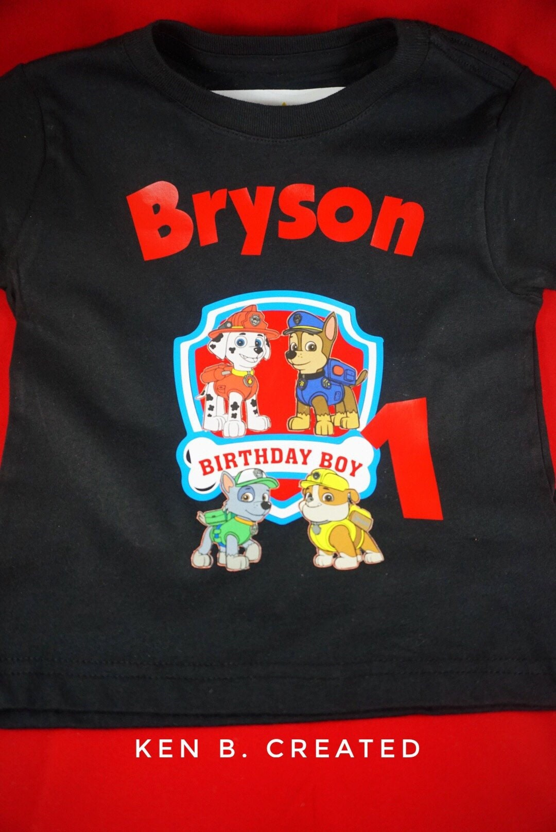 Paw Patrol Birthday Shirt Family Shirts Matching First 2nd
