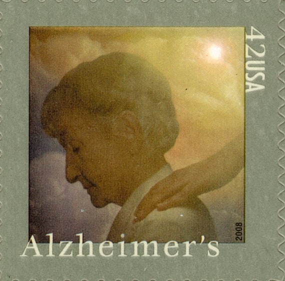2008 - la maladie d'Alzheimer de prise de d'Alzheimer conscience - Semi Postal - menthe - Unused - feuille complète (20) - Scott 4358 154415