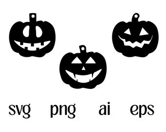 Pumpkin Earrings SVG, Glowforge Halloween Pumpkin svg Files, Gourd Digital Download, Instant Download File for Cricut