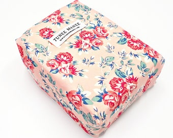 Floral Zero Waste Lunch Bag, Reusable Food Wrap, Eco Friendly Sandwich Wrap, Sustainable Gifts for Mom, Environmentally Friendly Gifts