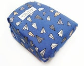 Blue Reusable Lunch Wrap - Zero Waste Sandwich Wrap - Air plane Sandwich Bags - Eco Friendly Sandwich Wrap - Eco Christmas Gift