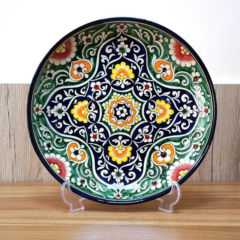 Oriental ornament dish plate 32 cm size image 0