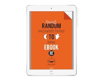 Random Halloween things to Draw ebook