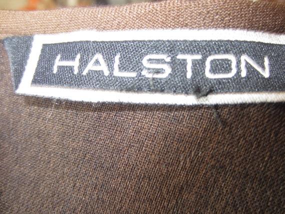 Plus Size Vintage 1970's Designer HALSTON/ Three … - image 7