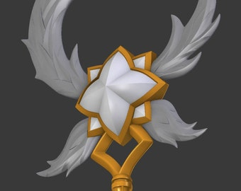 Star Guardian Ezreal Gauntlet League Of Legends Cosplay Lol Etsy