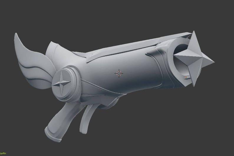 Star Guardian Miss Fortune Gun , League of Legends cosplay LOL , [3D Model]