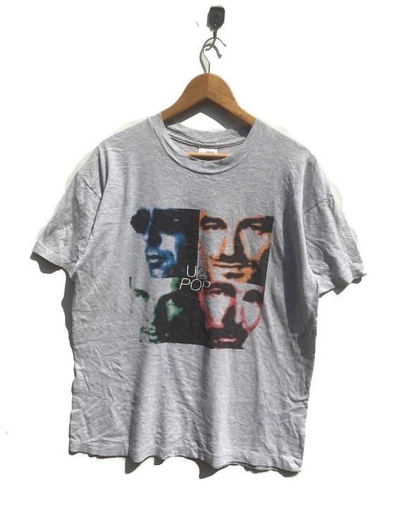 Rare Vintage 90s U2 band tee rock band tshirt