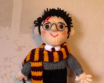 Harry Potter Character Doll / Philosophers Stone / Daniel Radcliffe Doll