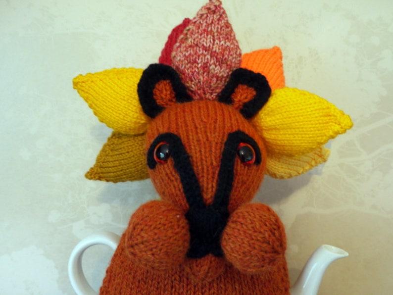 Knitted Tea Cosy Lion  Sun-God