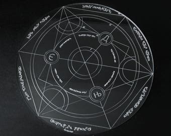 Engraved Spell Circle Template Design#1