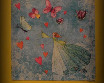 decopatch, fairy, original paper napkin