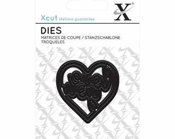 Docrafts-Xcut Love Heart cutting die die