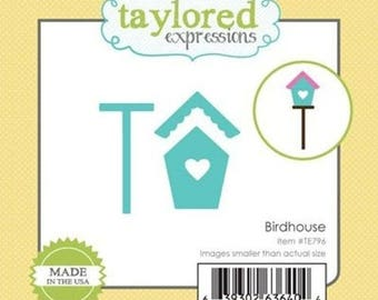 This die cut metal House bird Taylored Expressions
