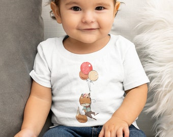 Infant Fine Jersey Tee  - Up and Away!