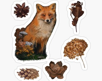 Nature and Animal Stickers 24 Pack and 60 pack