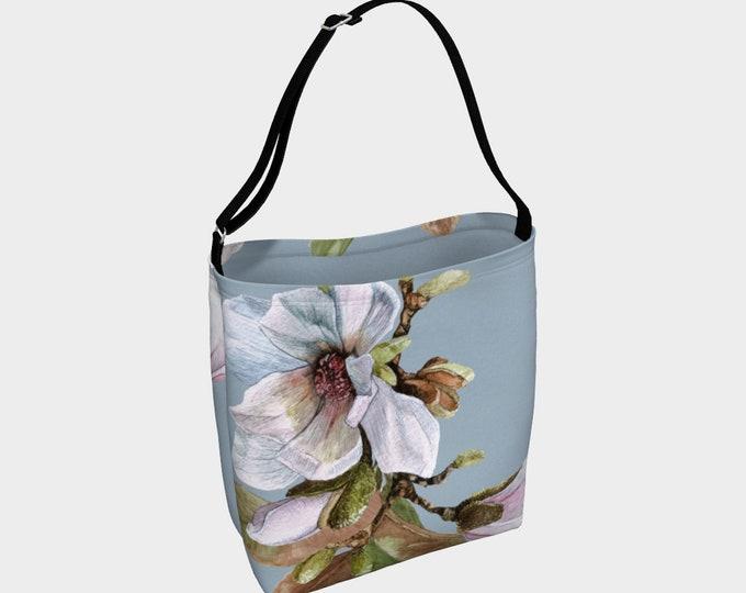 Vancouver's spring Magnolia - Day Tote Bag - hand bag