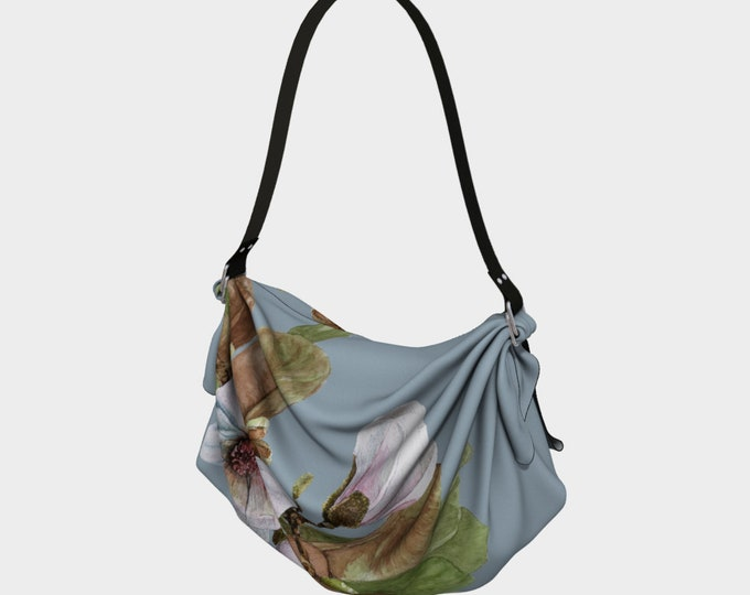 Vancouver spring Magnolia - Origami Tote - hand bag - 2 in 1 product