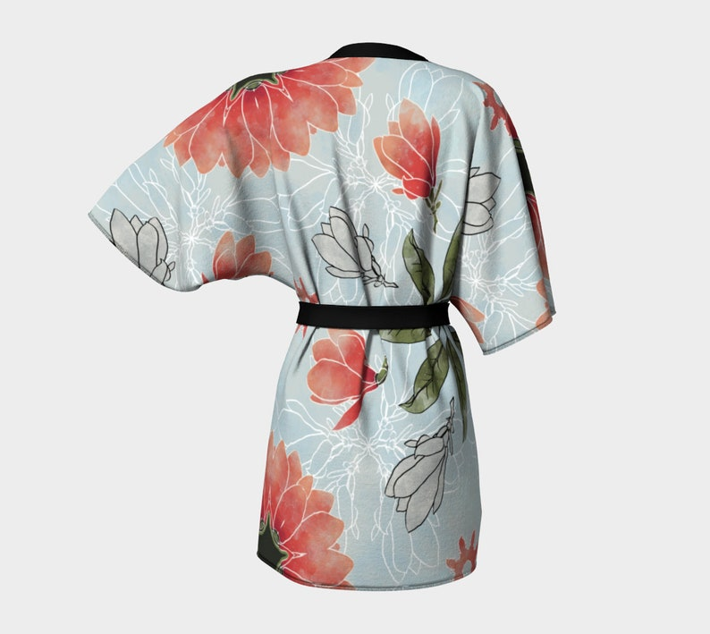 Magnolia In Spring Kimono Made In Canada Vancouver Spring