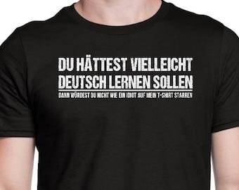 f588e77b09 Funny German Speaker Shirt - German Speaking T Shirt - German Speaker Gift  - German Saying - German Quote - German Shirt