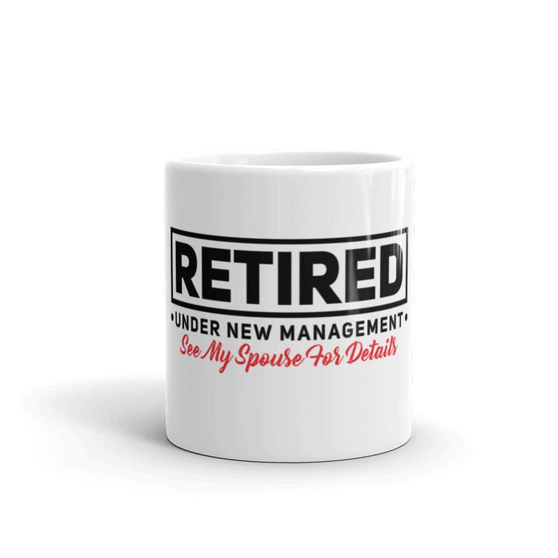 Retirement Gifts Retired Life of the Party Funny Retirement Coffee Mug Tea Cup