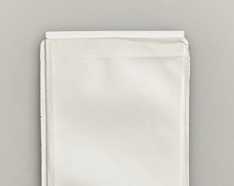 Card sleeve with RFID protection - 5g of used coffee packaging/ recycled material / white