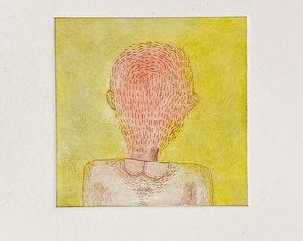 """Postkarte_Kunstdruck_""""Portrait No. 2"""""""