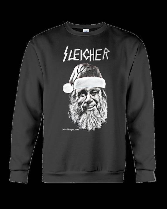 image 0 - Black Metal Christmas Sweater
