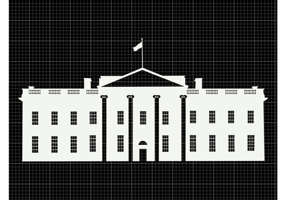 white house svg white house silhouette white house png the etsy
