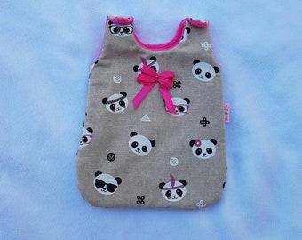 Sleeping bag for baby pandas pattern 30 cm