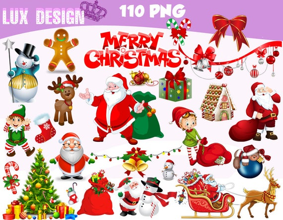 Christmas Clipart Transparent Background.110 Christmas Clipart Png Images Digital Clip Art Instant Download Graphics Transparent Background Scrapbook