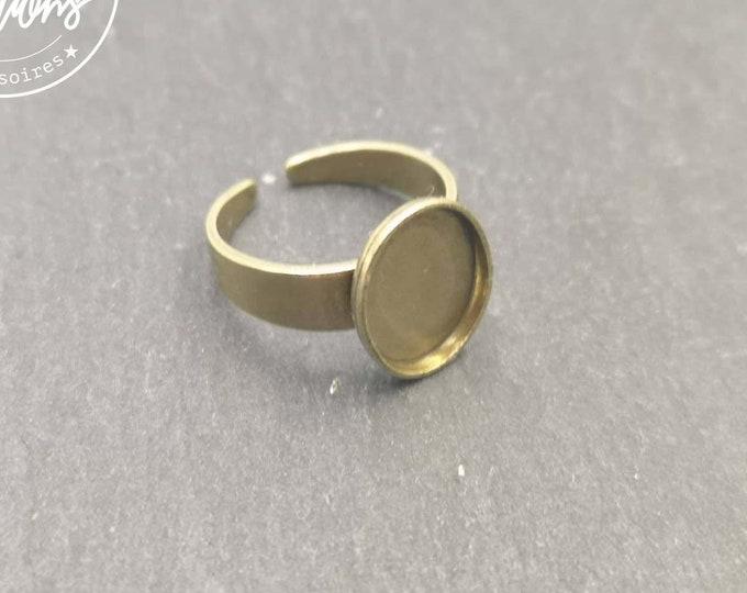 8x10X1.5mm brass finish brass child ring