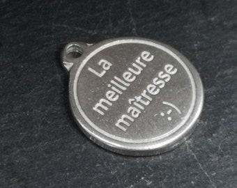 Tin Medal - 17mm - The Best Mistress