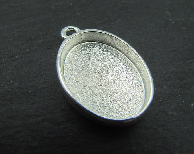 17x23x4mm silver tin patent holder 925 - made in france