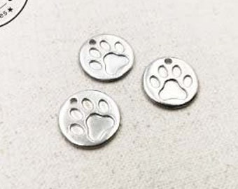 Tin Medal for Cat - '15mm' - made in France