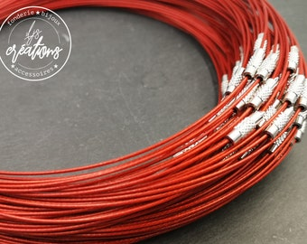 "1 neck neck ""Red"" - 45cm"