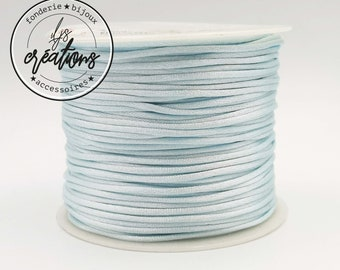 6m string mouse tail - Sky Blue