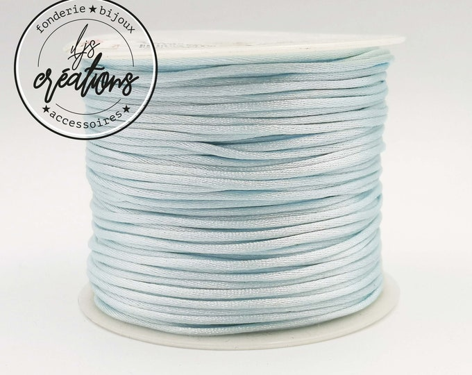 3m string mouse tail - Sky Blue